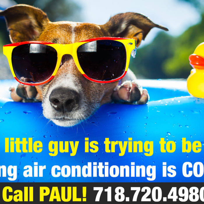 Post Card for an Air Conditioning Company